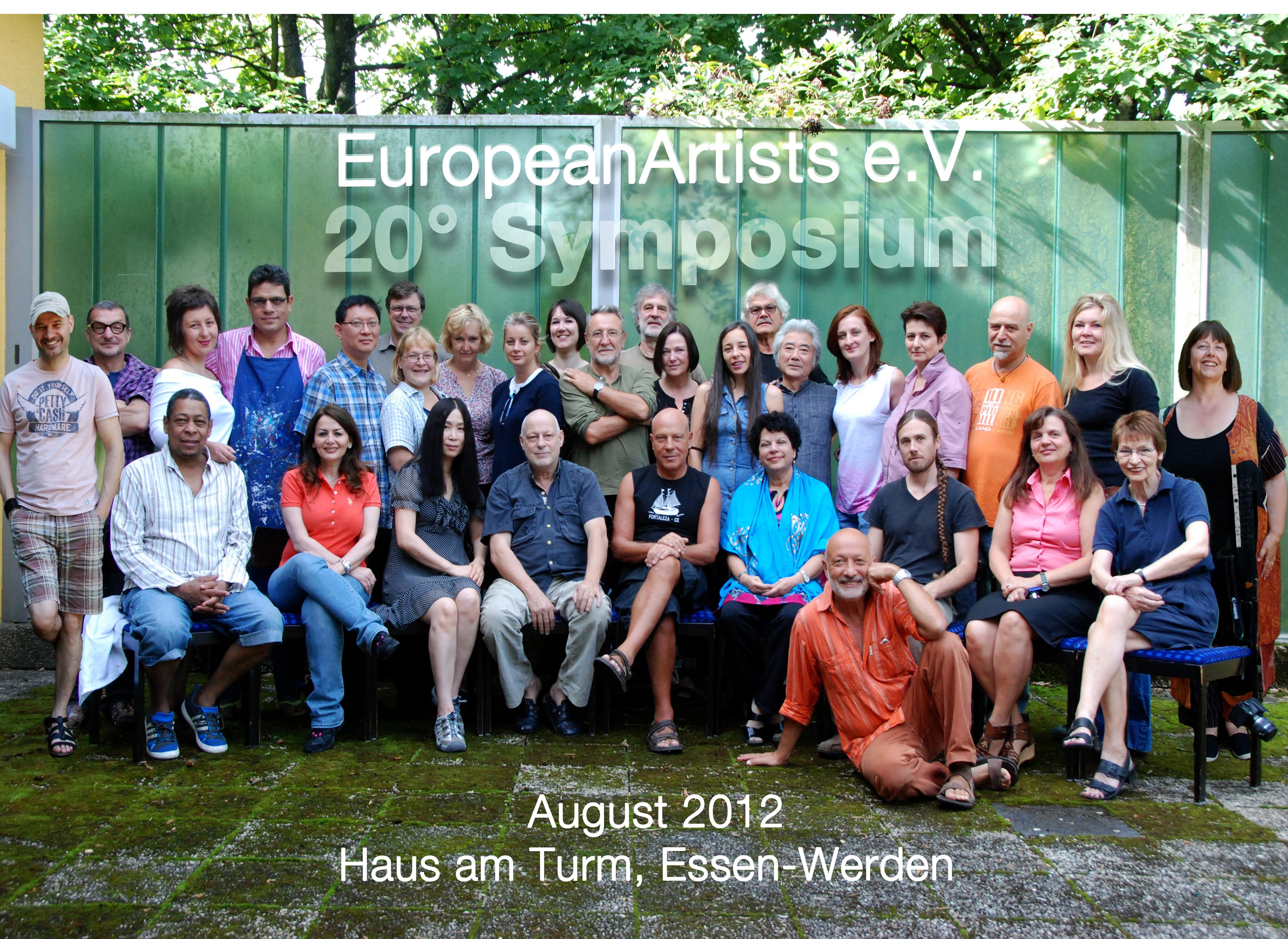 Gruppenfoto Symposium 2012